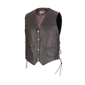 Biker-Ten-Pocket-Leather-Vest