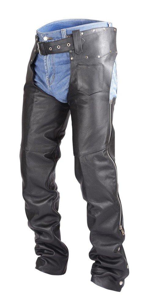 Biker-Leather-Chaps