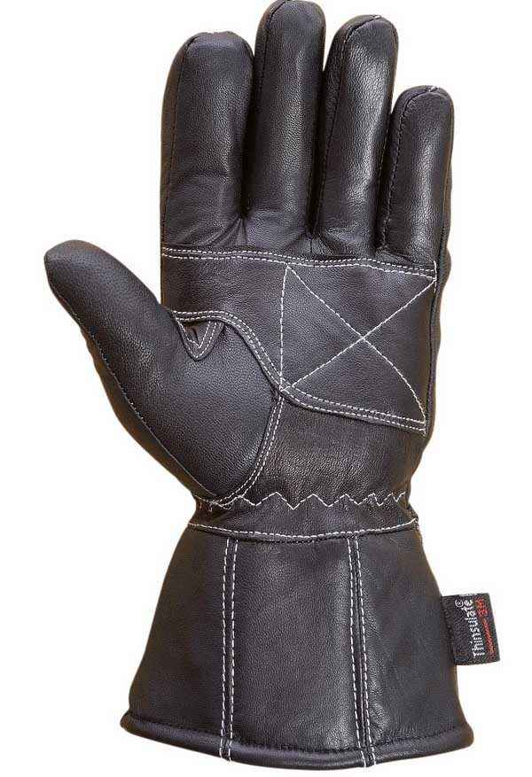 Premium-Mens-Winter-Driving-Dress-Gloves-3M-Thinsulate-lined-Black