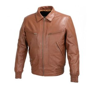 Men-bomber-Leather-fashion-Jacket
