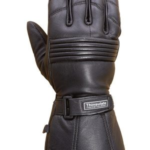 Premium-Leather-Long-Gauntlet-Biker-Winter-Gloves-G12