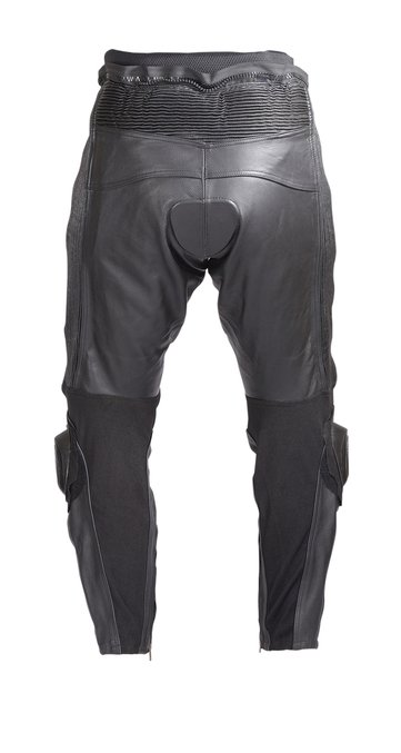 Mens-Motorcycle-Race-Leather-Pants-Black-with-CE-Rated-Armor-and-Sliders