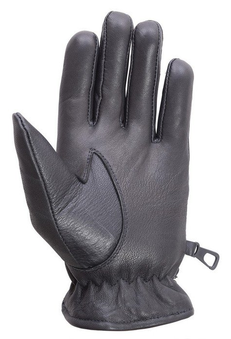 Unisex-Soft-Lambskin-Leather-Driving-Dress-Fashion-Everyday-Gloves-Black