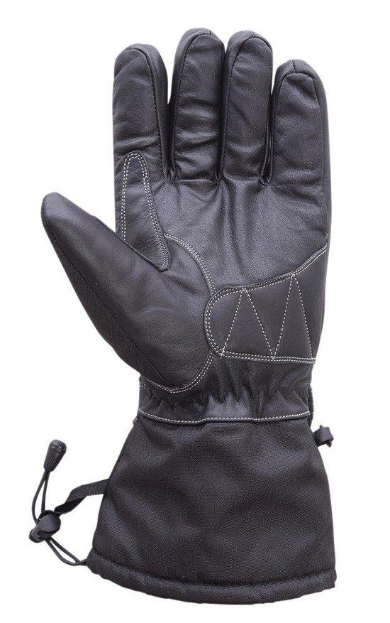 Motorcycle-Extra-Long-Gauntlet-Cowhide-Waterproof-Riding-Gloves