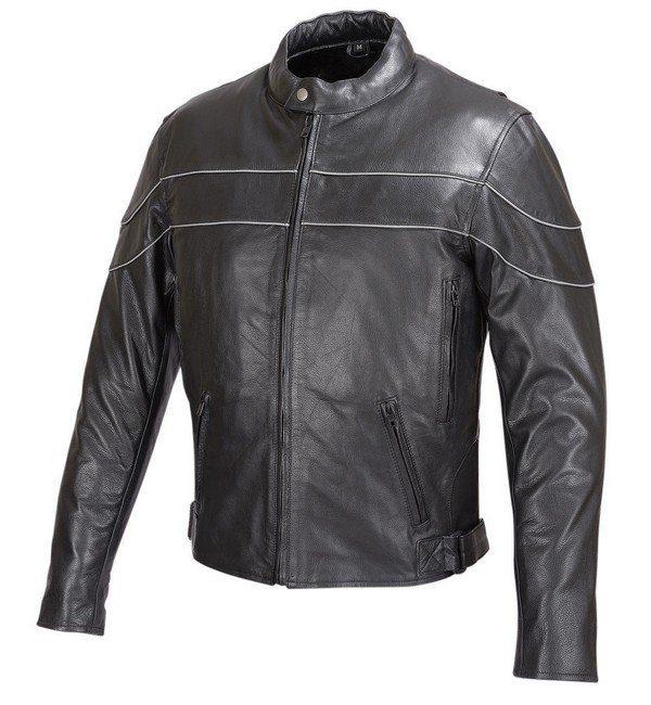 Reflective-Stripe-Leather-Motorcycle-Jacket-Black