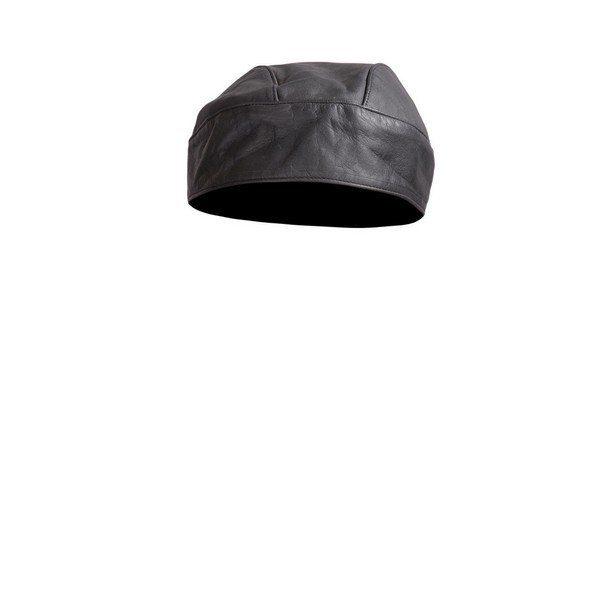 Genuine-Cowhide-Motorcycle-Leather-Head-Wrap-Skull-Cap-bandana-durag