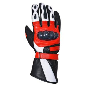 Motorcycle-Carbon-Fiber-Knuckle-Premium-Natural-Cowhide-Biker-Glove-MG9